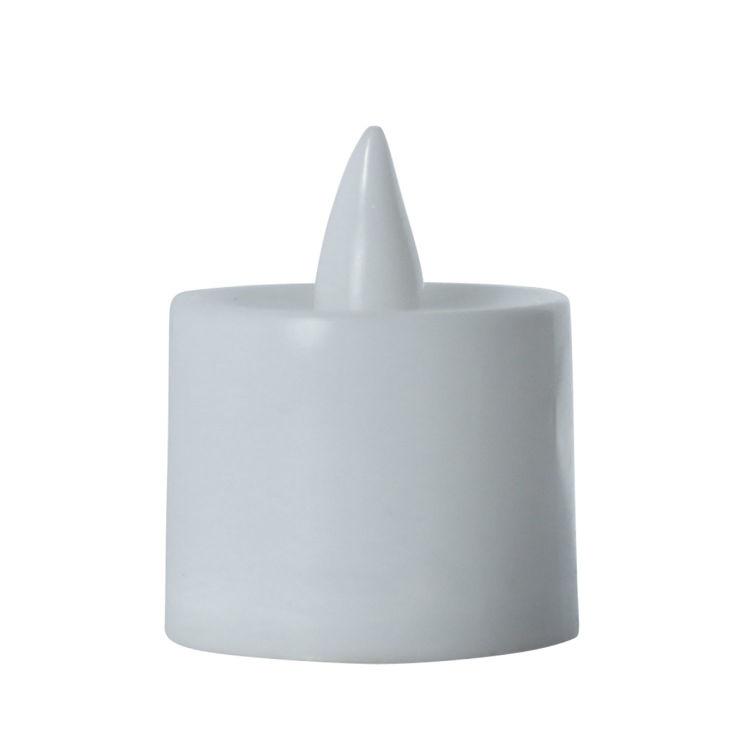 LED Flameless Tea Light Candles, 24 Pack, White