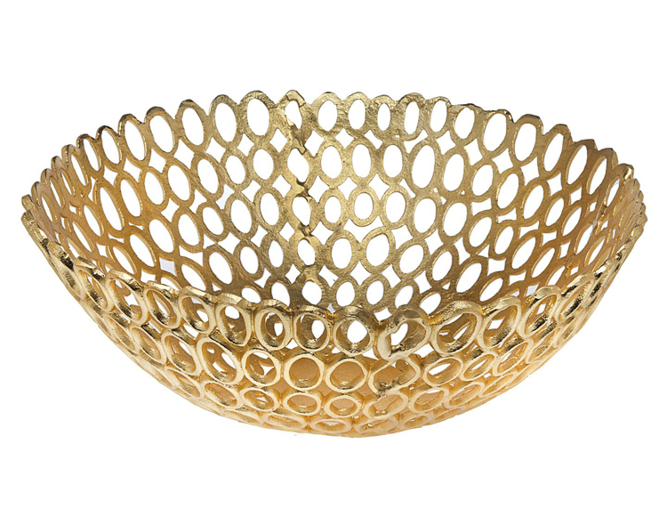 Godinger Large Ovel Ring Bowl