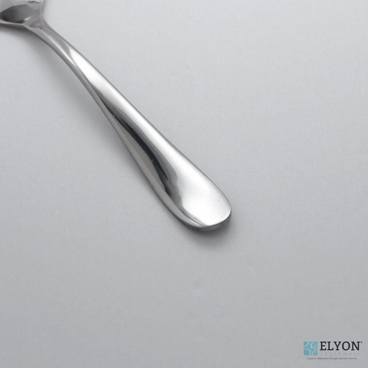 Splendide Alpia Salad Server Stainless Steel, 2 Piece Serving Set | Elyon Tableware