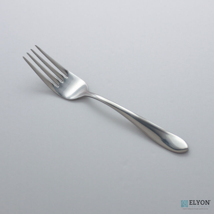 Splendide Alpia Salad Forks Stainless Steel, 6 Pieces | Elyon Tableware