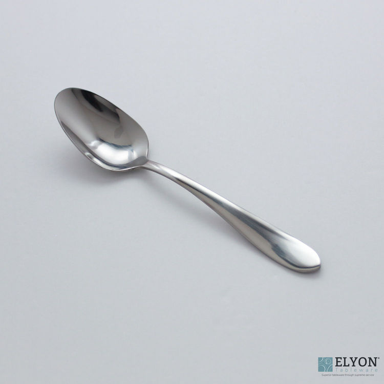 Splendide Alpia Teaspoons Stainless Steel, 6 Pieces | Elyon Tableware