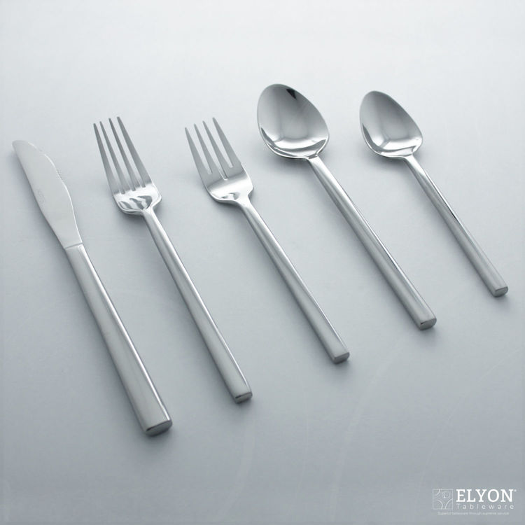 Metropolitan 20-Piece Stainless Steel Kyoto Flatware Set, Service for 4 | Elyon Tableware