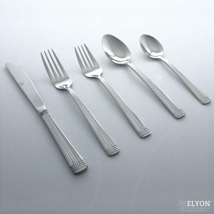 Metropolitan 20-Piece Stainless Steel Superior Flatware Set, Service for 4 | Elyon Tableware
