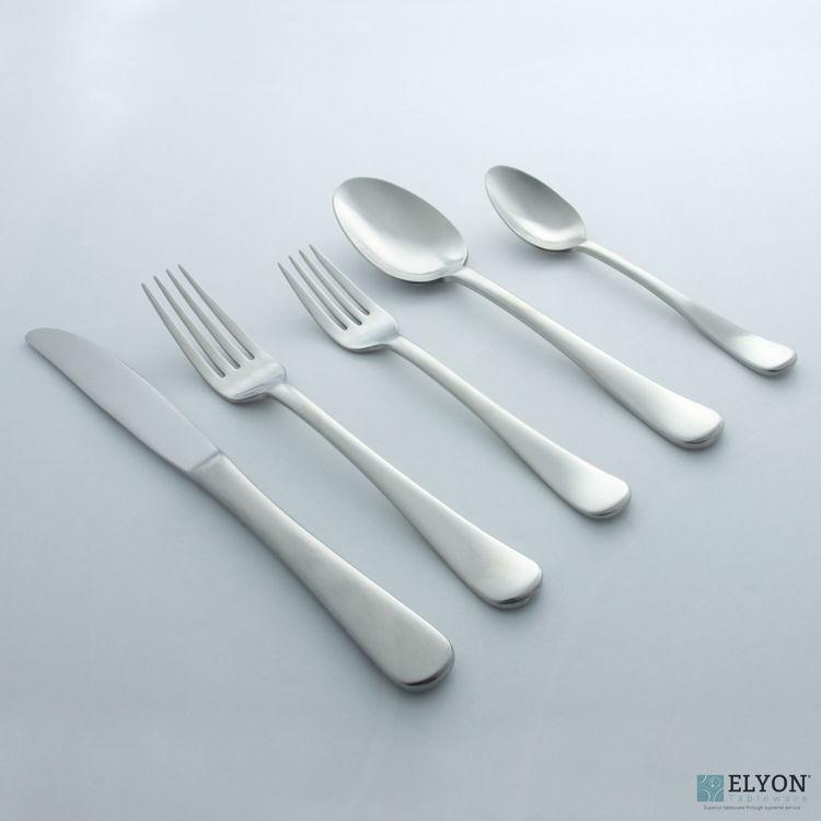 David Shaw 20-Piece Stainless Steel Splendide Lucia Flatware Set, Service For 4 | Elyon Tableware