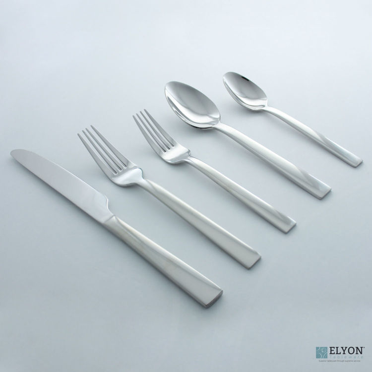 David Shaw 20-Piece Stainless Steel Splendide Madrid Flatware Set, Service For 4 | Elyon Tableware