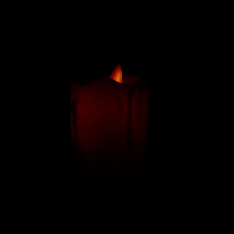 Lit LED Dripping Flameless Flicker Candles