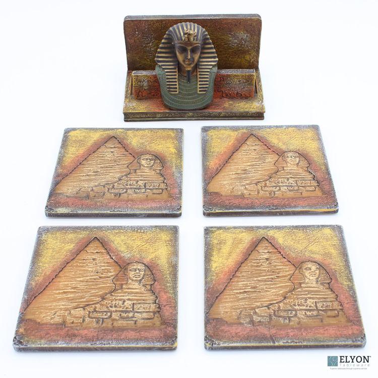 Egyptian Coaster Set